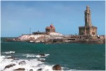 Kanyakumari, Vivekananda Rock, North and South Tours, Indian Holiday Vacation